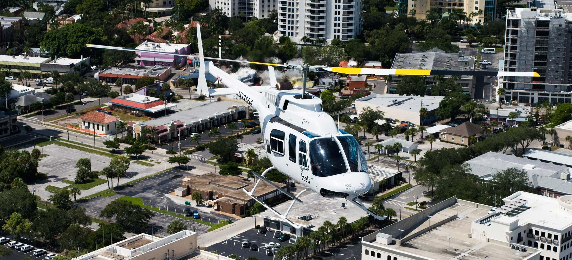 Heli Aviation - Sarasota Florida Tour