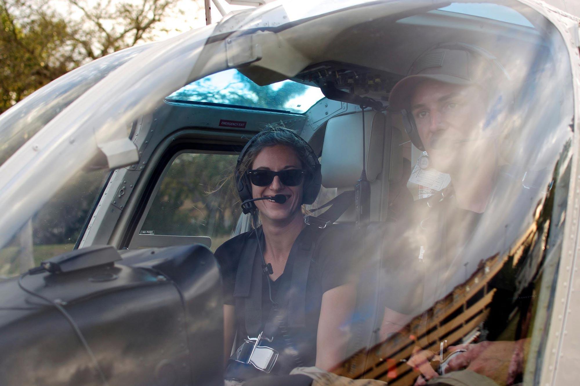 Heli Aviation ride smile Sarasota Florida